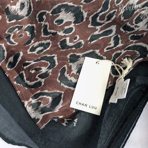 NEW Chan Luu Silk Scarf Rachel Zoe Box of Style